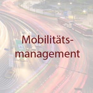 Projekte Mobilitätsmanagement weiss